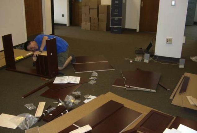 Профессиональная сборка мебели на дому
