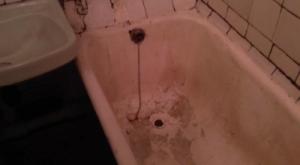 ванна до реставрации
