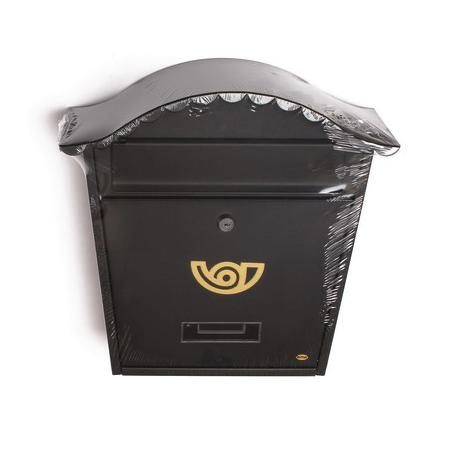 Почтовый ящик Amig-1, металлический, черный